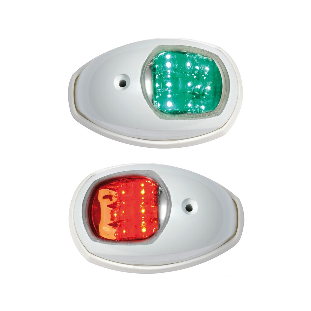 EVOLED Port & Starboard LED Nav Lights - White (Pair)