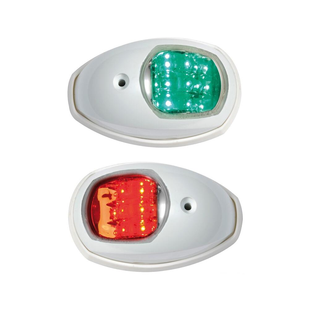 EVOLED Port & Starboard LED Nav Lights - White (Pair)