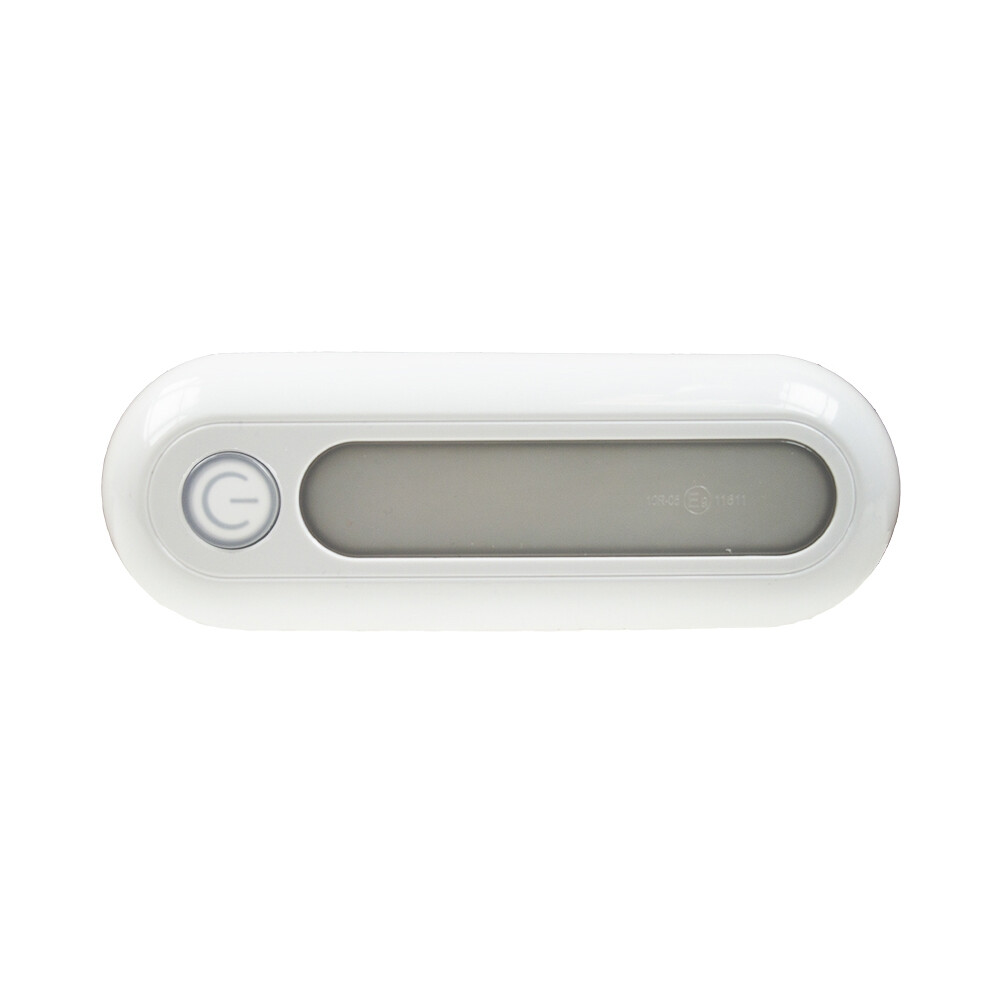 LED Oblong Light with Illuminated Dimmer
