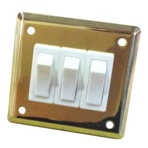 Brass Treble Light Switch