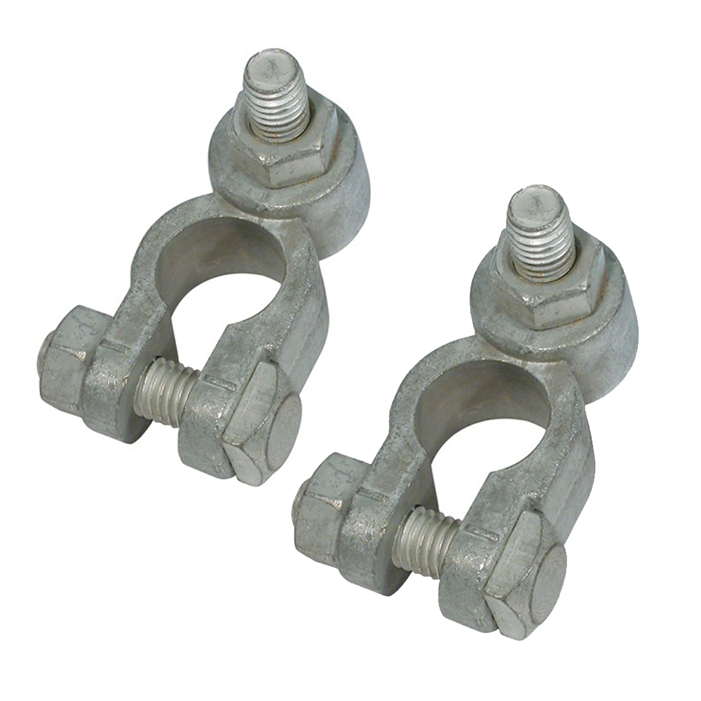 Battery Terminals with Stud & Nut (Pair)