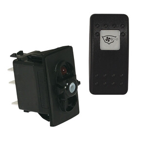 Illuminated Rocker Switch - Bilge Blower