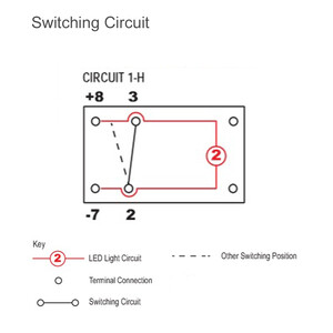Illuminated Rocker Switch - Fan