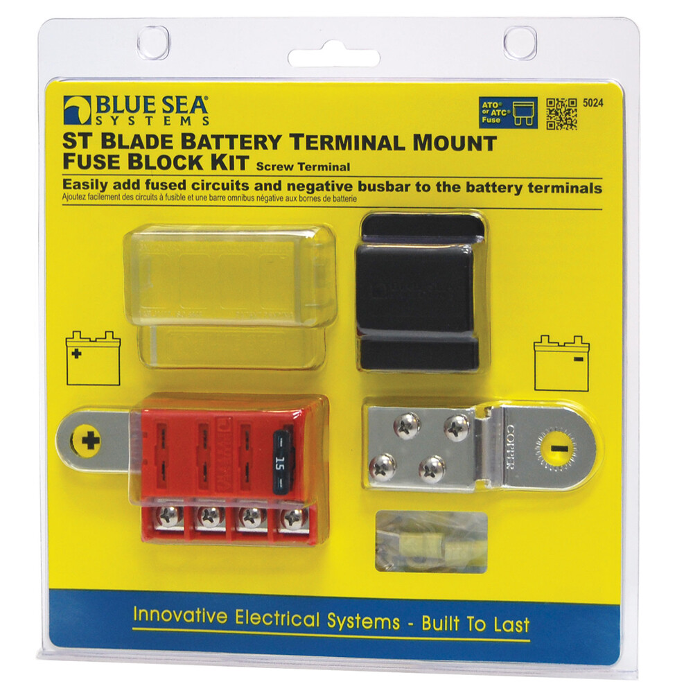 Blade Battery Terminal Mount Fuse Block Kit