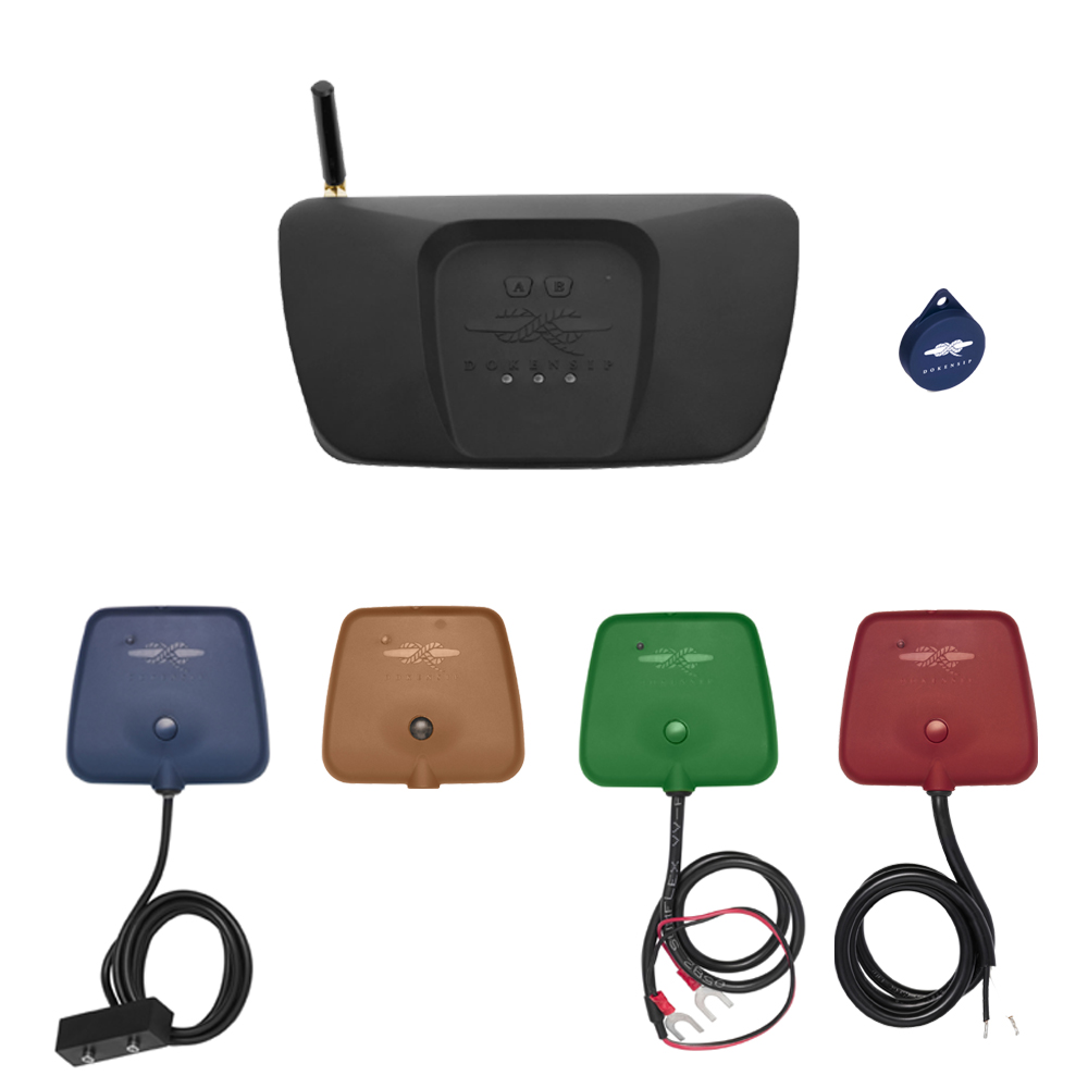 Dokensip Wireless Vessel Monitoring Starter Pack DK