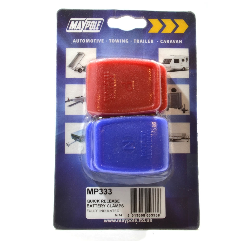 Quick Release Battery Clamps