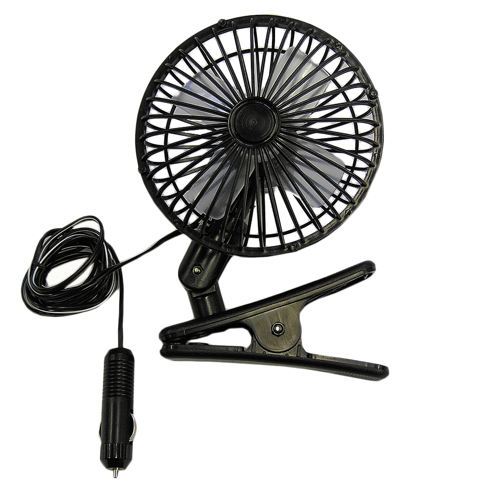 Clip-On 12V Fan