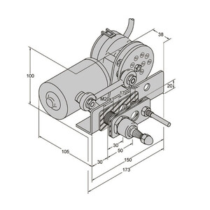 MD1 223BD Wiper Motors 24V