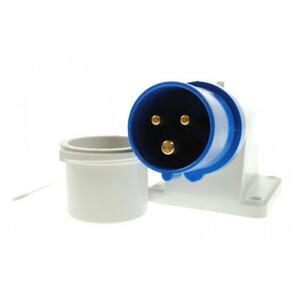 Splashproof Plug - 16 Amp