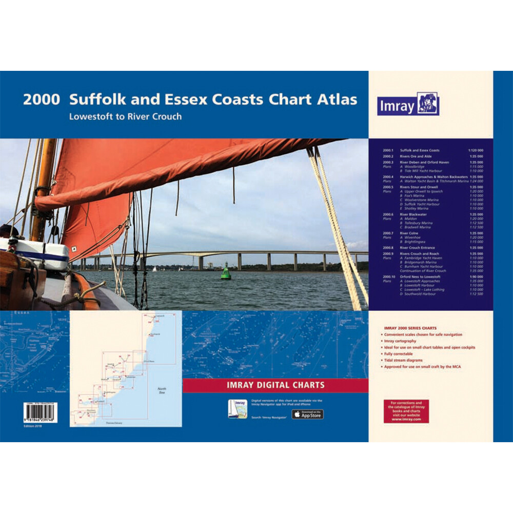 2000 Suffolk & Essex Coast Chart Pack
