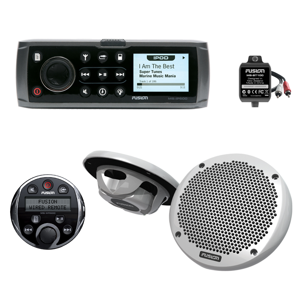 iPod Marine Stereo MS-IP600 Bundle