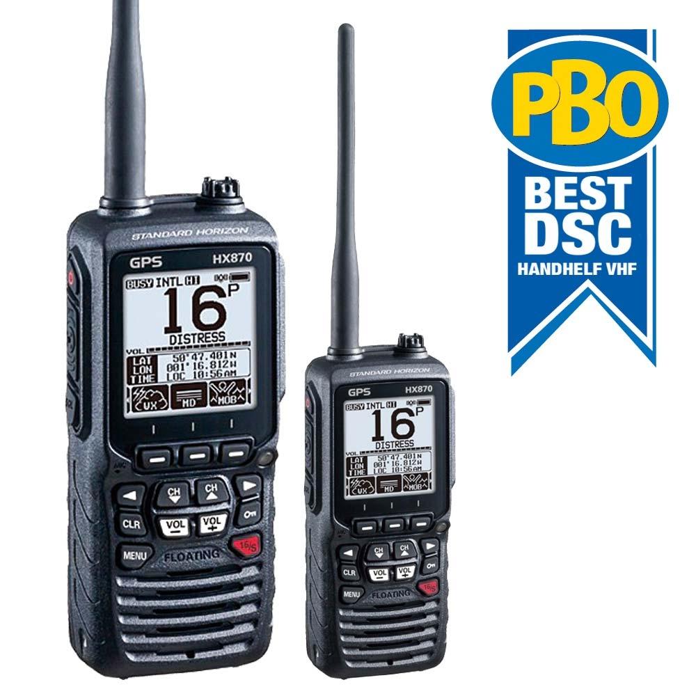 HX870E Floating Class D DSC Handheld VHF Wi