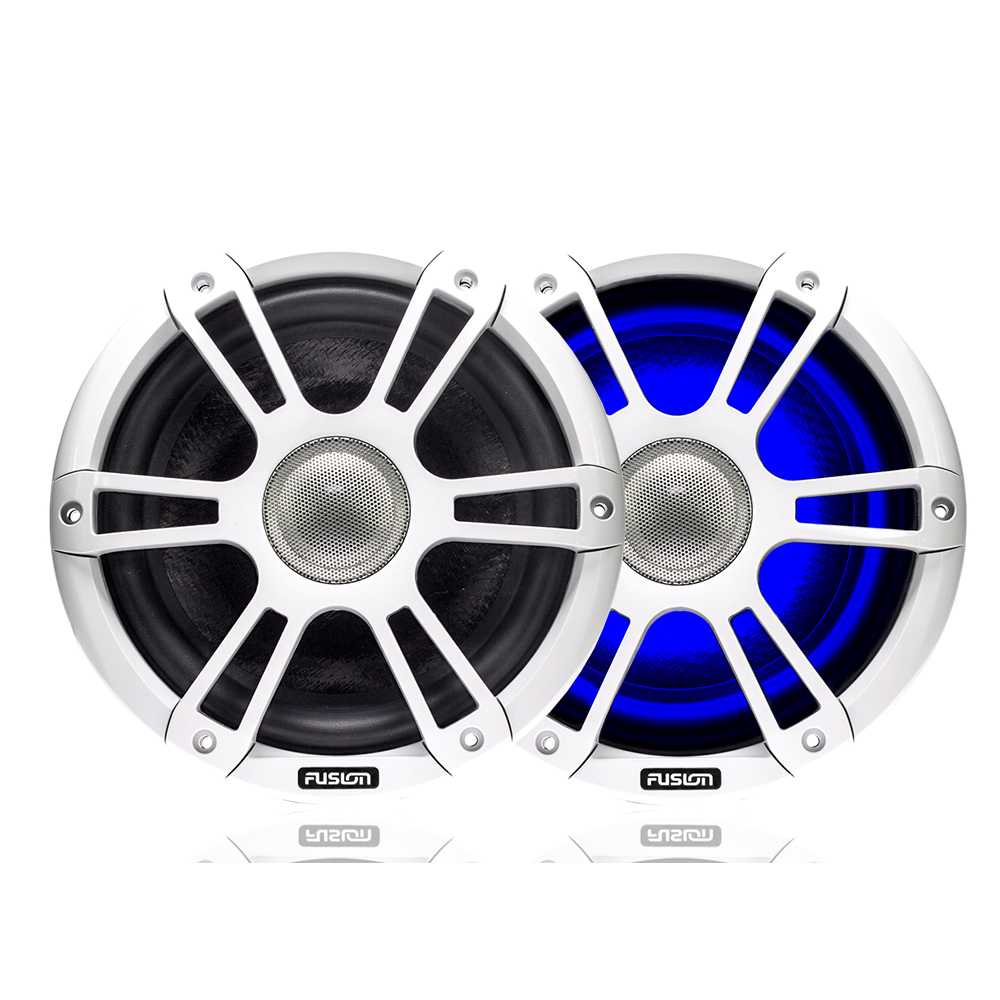 "Signature 6.5"" 230 WATT Coaxial Sports White Marine S"