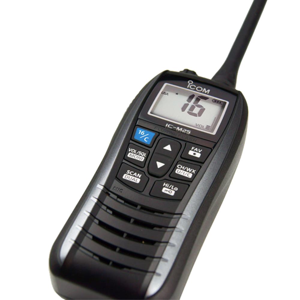 IC-M25 Euro VHF Radio Grey