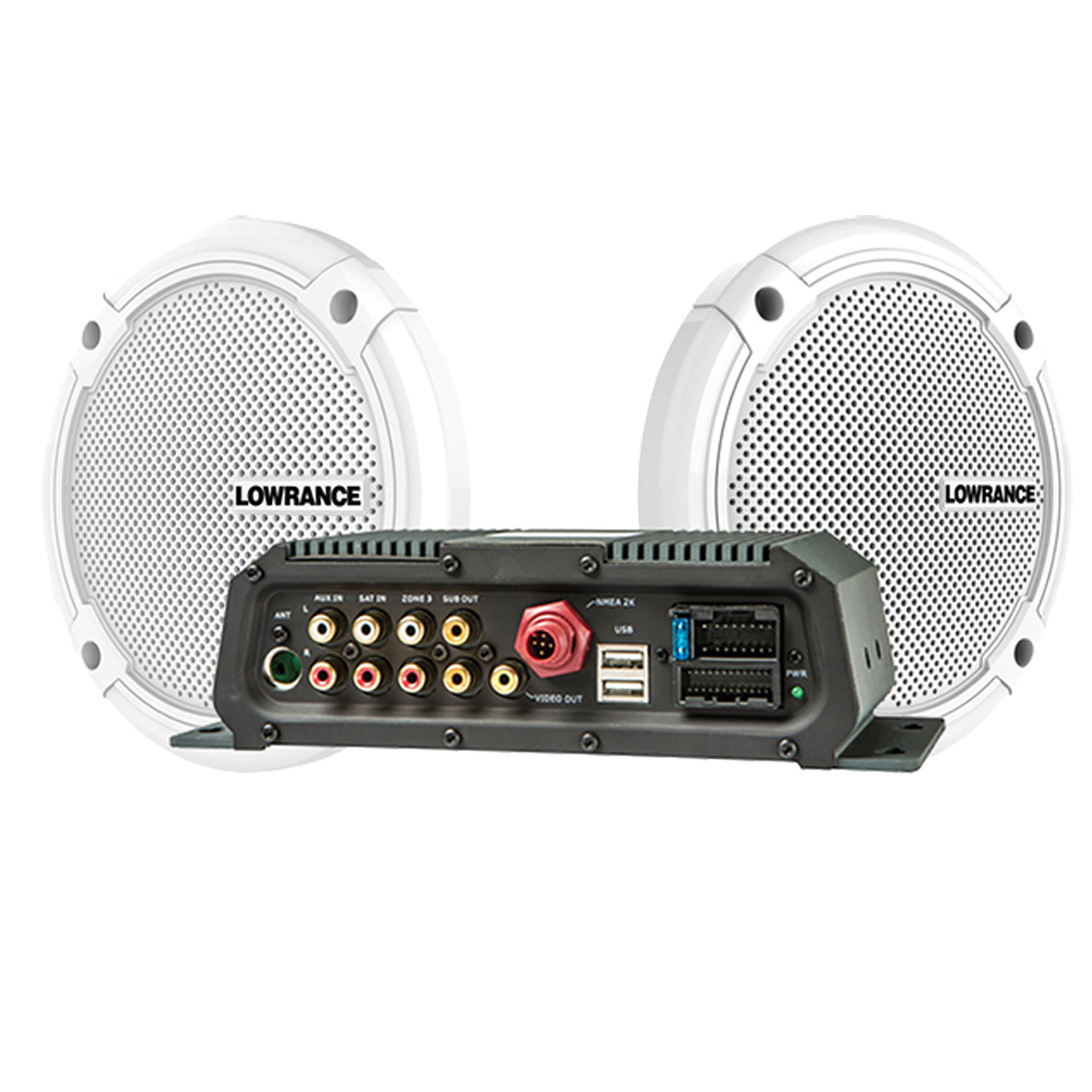 "SonicHub 2 With 1 Pair Of 6.5"" Speakers"