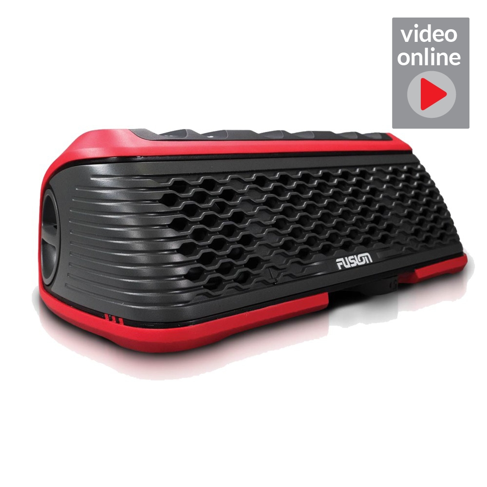 Stereo Active Portable - Red
