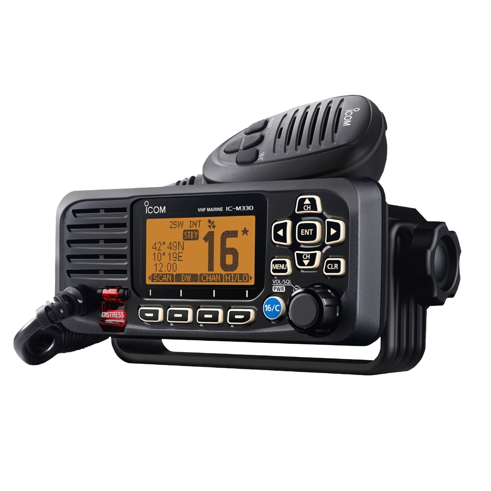 IC-M330GE VHF Radio with GPS Ultra Compact Model