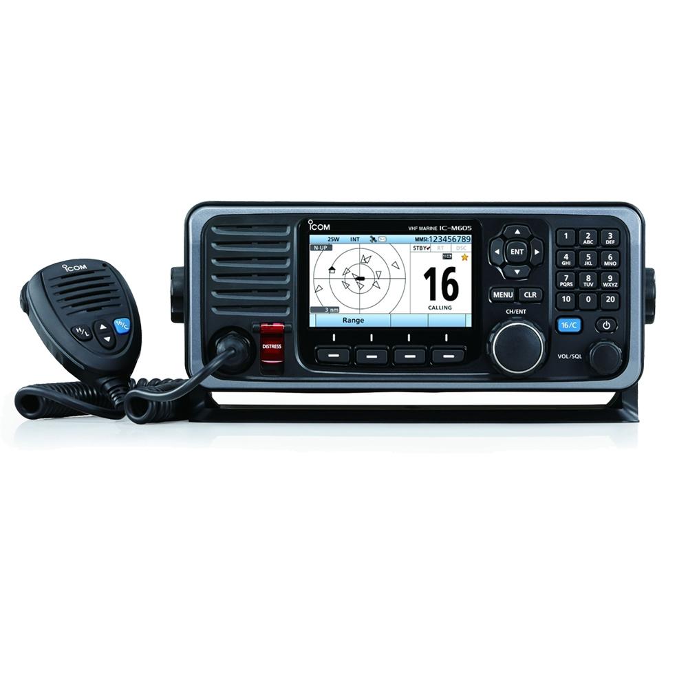 IC-M605EURO VHF Radio with AIS Receiver