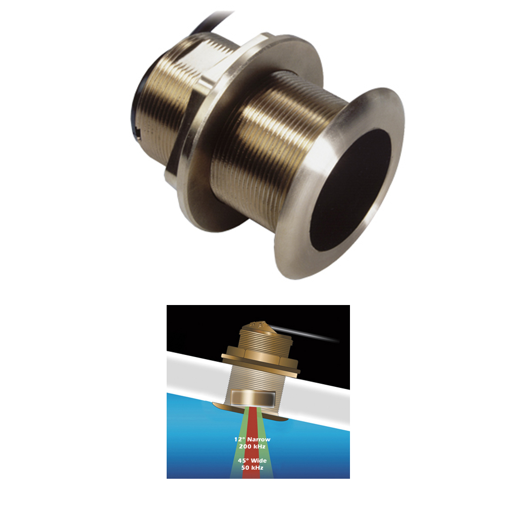 B60 Bronze Thru Hull transducer