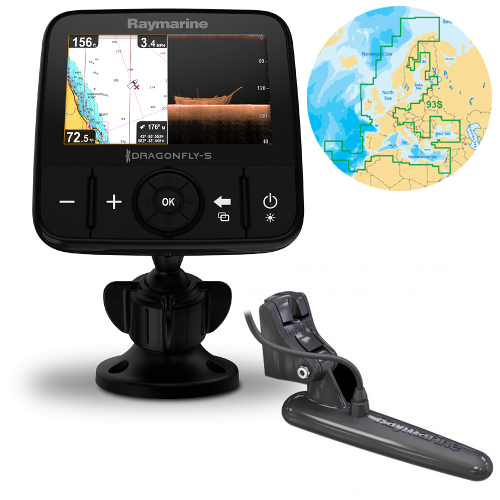 Dragonfly 5 Pro with European Navionics Silver