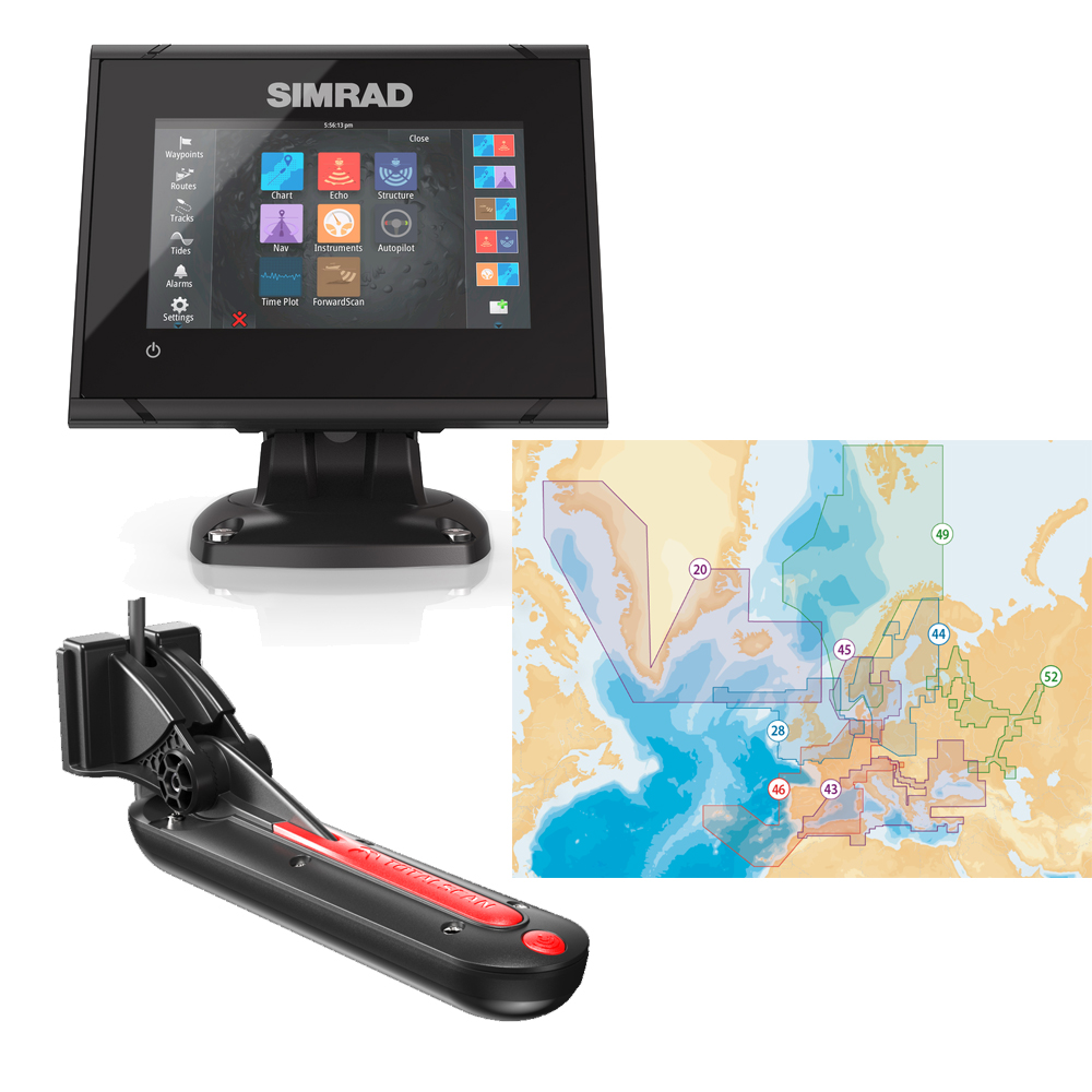 GO5XSE TotalScan Combo with Navionics+ Chart
