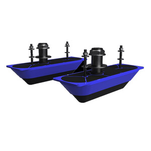 StructureScan 3D Stainless Steel Dual Thru-Hull Transducer