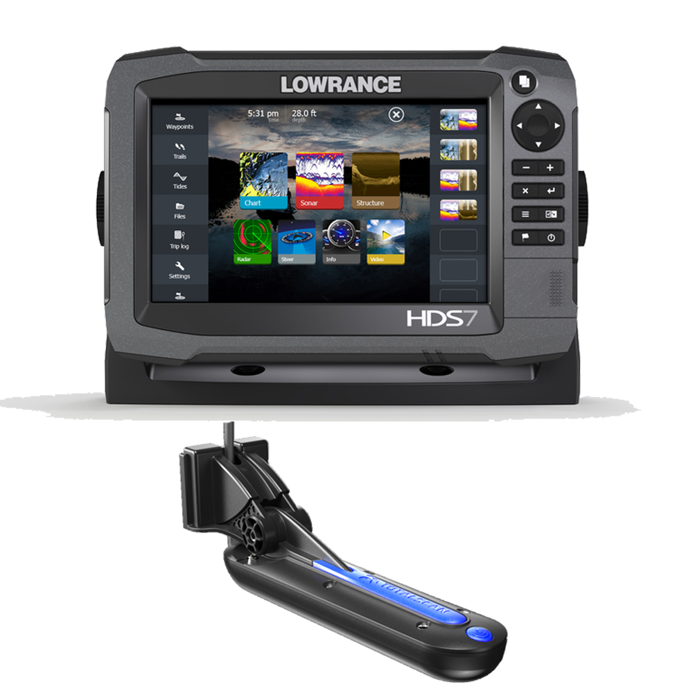 HDS-7 Gen 3 With Totalscan Transducer