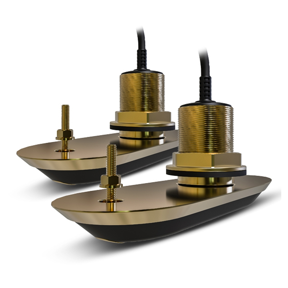 Pack of RV-212 Realvision 3D Thru Hull Bronze Transducers