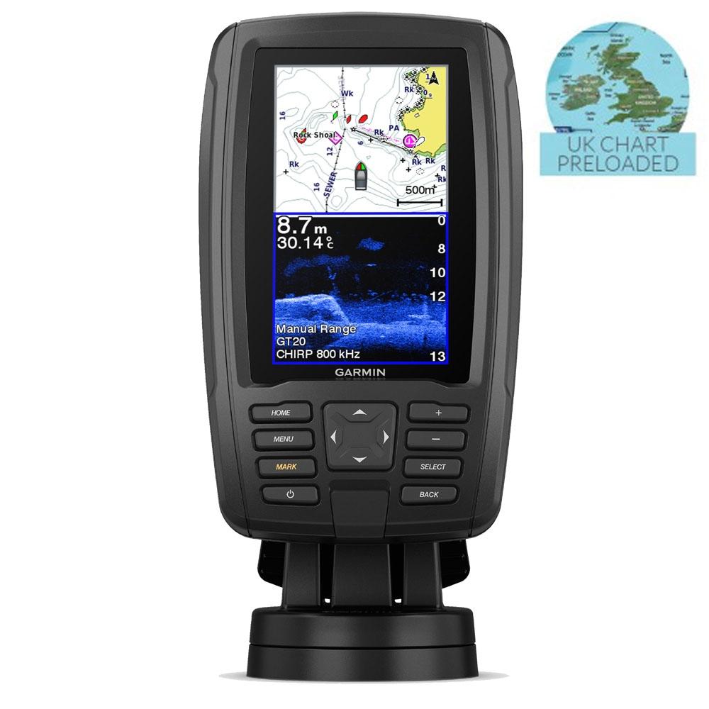 Echomap Plus 45cv Chartplotter Fishfinder Combo