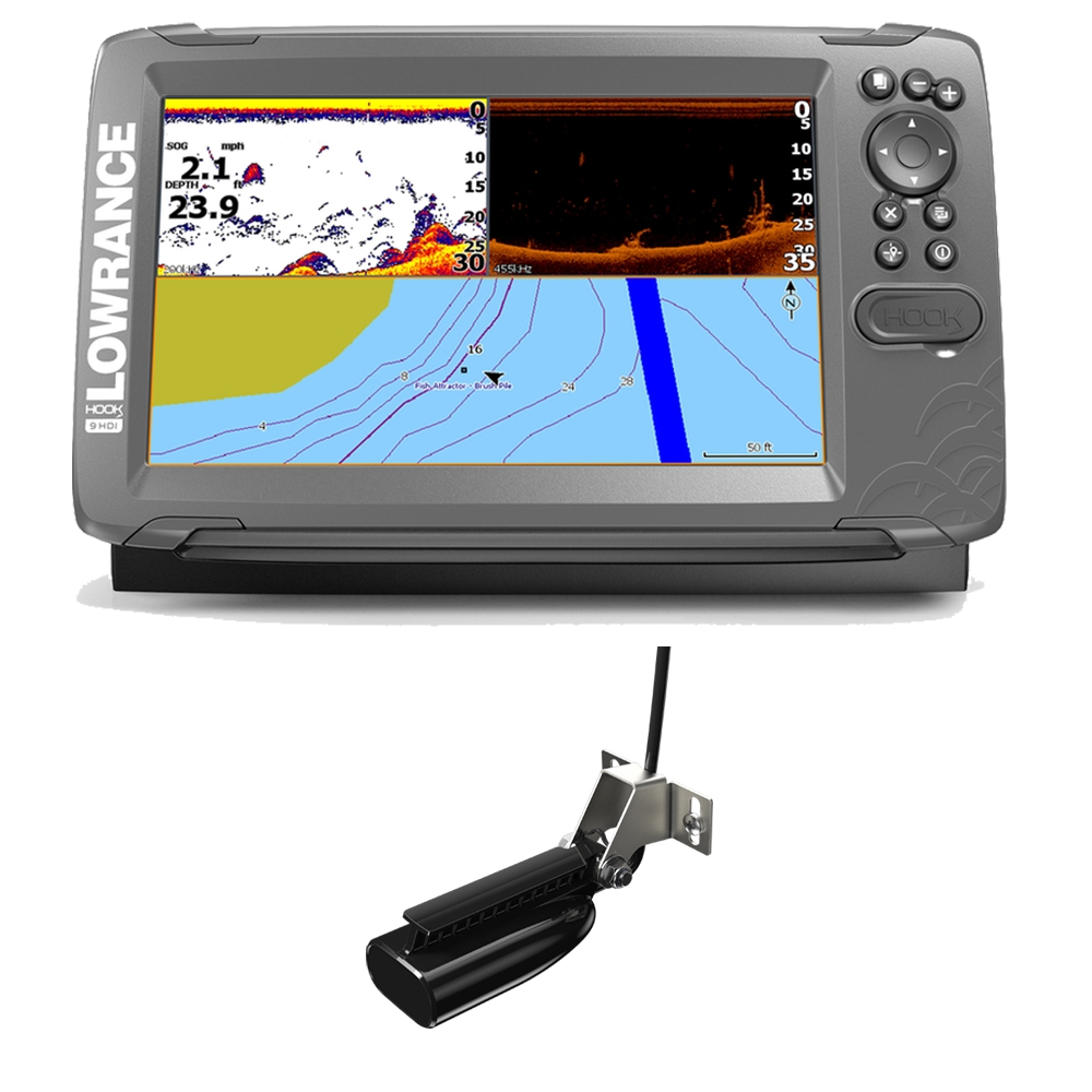 Hook2-9 Splitshot Chartplotter Fishfinder Combo