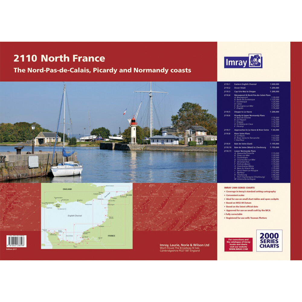 2110 North France Chart Pack