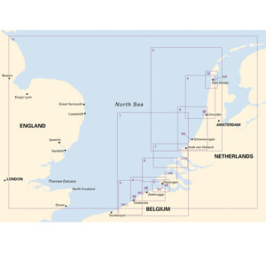 2120  North Sea Chart Pack