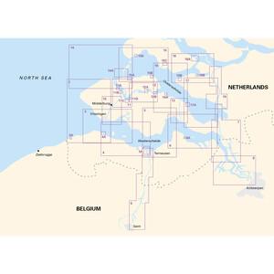2130 Westerschelde and Oosterschelde Chart Atlas