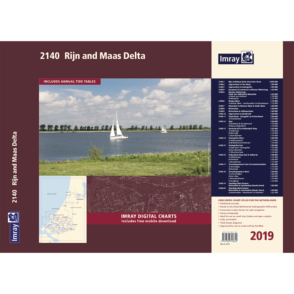 2140 Grevelingenmeer and Maas Delta Chart Atlas