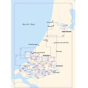 2140 Grevelingenmeer and Maas Delta Chart Atlas