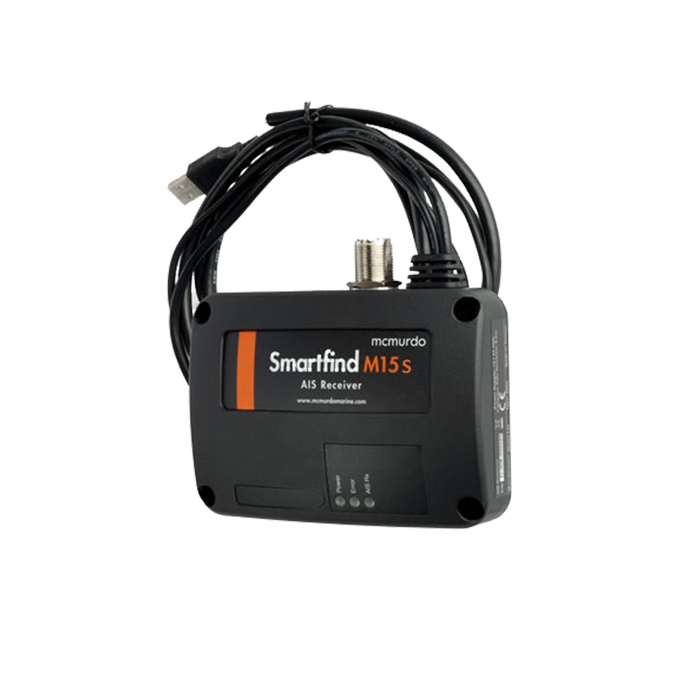 Smartfind M15S AIS Receiver With Internal Splitter