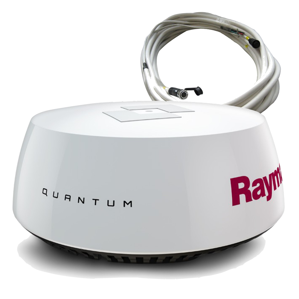 Quantum Wireless Chirp Radar With 10m Data Cable