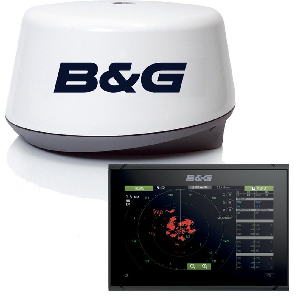 Vulcan 9 Sailing Chartplotter & 3G Radar