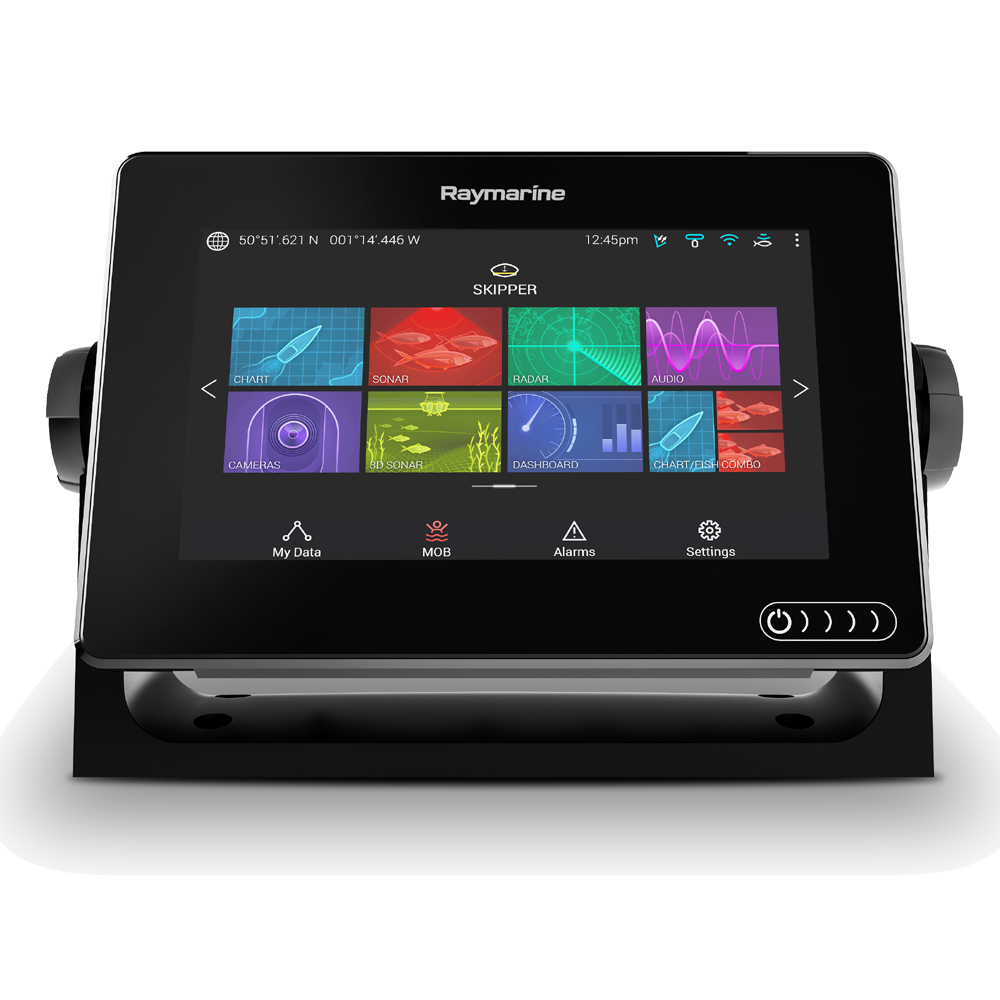 Axiom 7 RV Multifunction Display