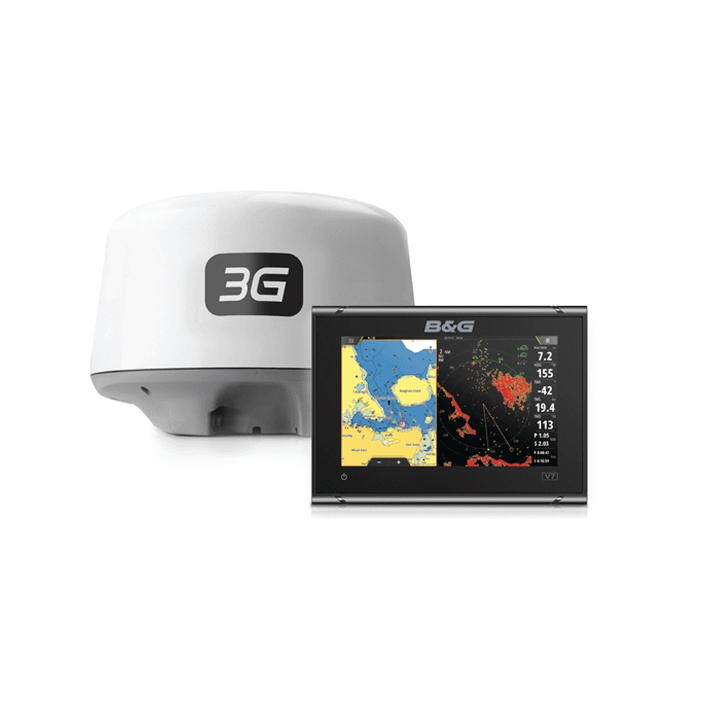 Vulcan 7R Sailing Chartplotter With 3G Radar