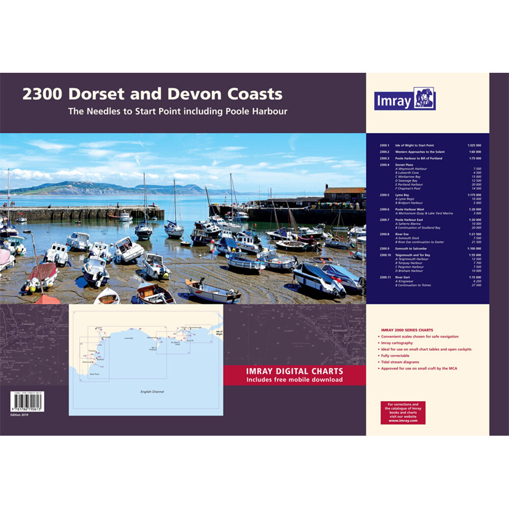 2300 Devon & Dorset Coasts Chart Pack