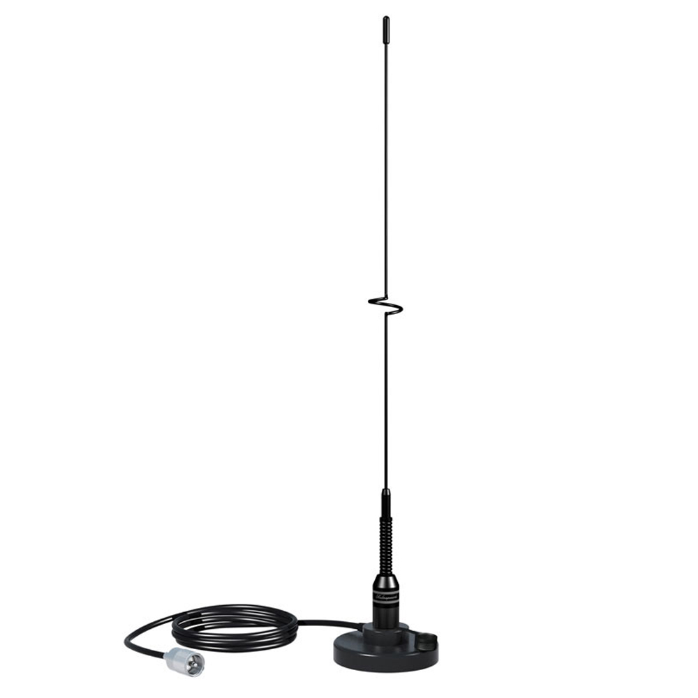 Stainless Steel Whip VHF Antenna With Magnetic B