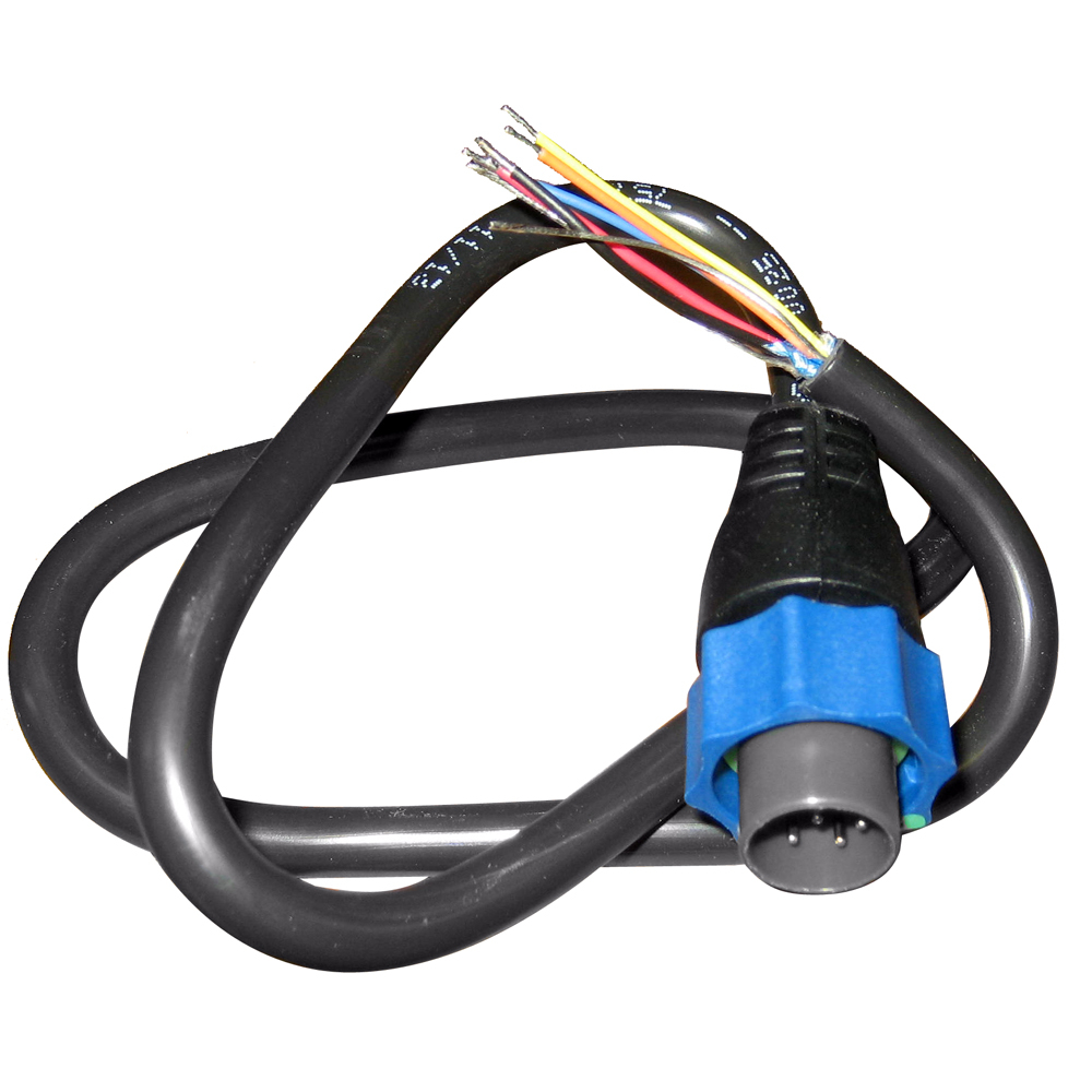 Adapter cable, 7 pin BLUE to bare wires