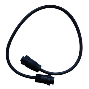7 Pin Blue Transducer to 9 Pin Black connector adapter cable
