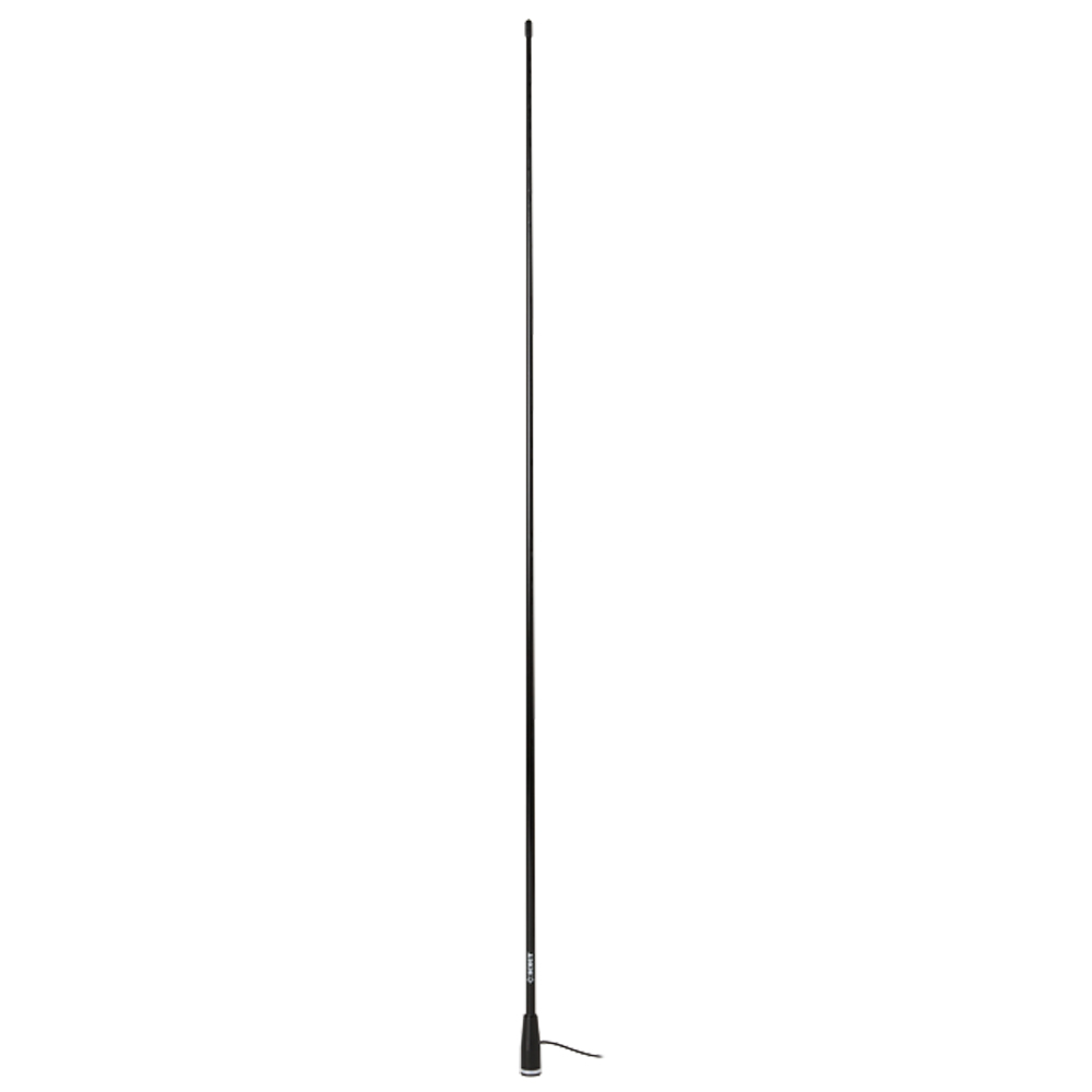 Black Edition VHF Fiberglass Antenna 1.5 m