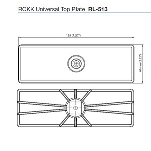 Universal Self-Drill Top Plate