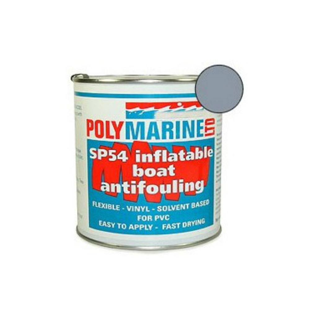 Inflatable Boat Antifouling - PVC Grey 1Ltr