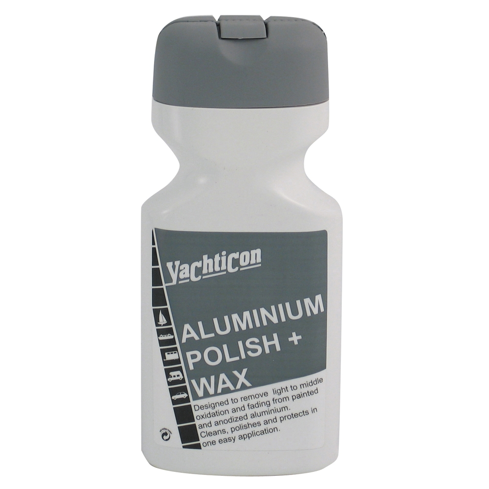 Aluminium Polish & Wax 500ml