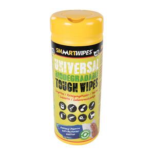 Universal Biodegradable Tough Wipes 40pk