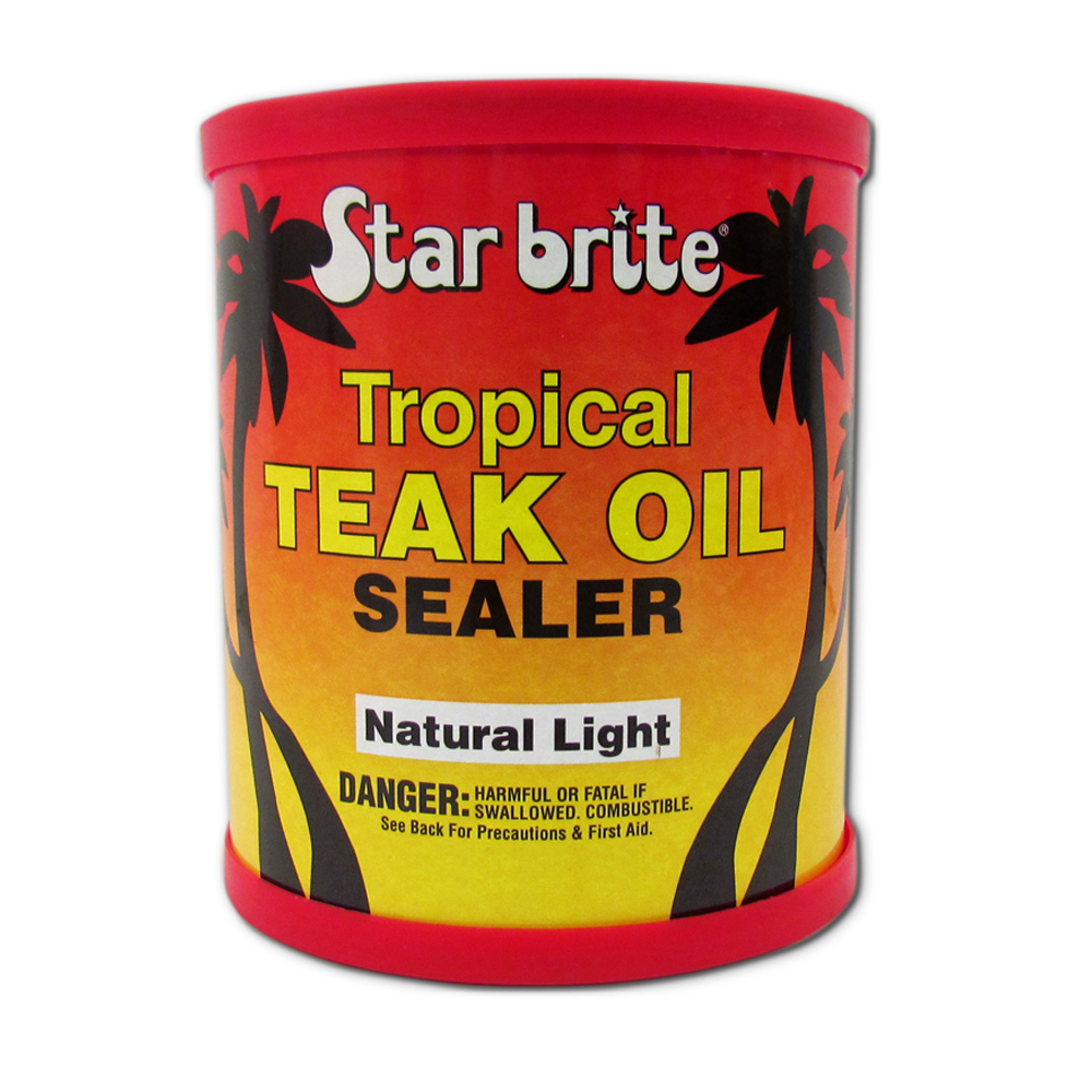 Tropical Teak Oil Natural Light 16oz